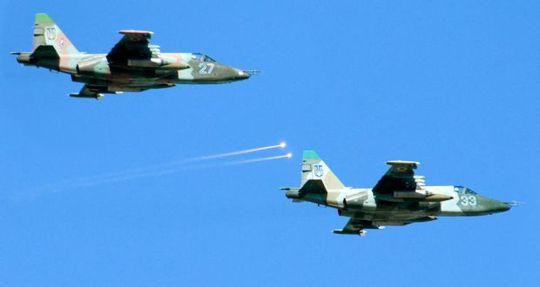 Su-25. Ảnh: EPA