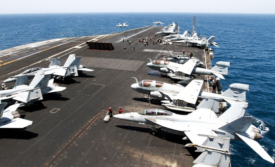 Mỹ không có kế hoạch mở rộng các cuộc không kích tại Iraq. Ảnh: Stars and Stripes