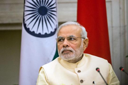 Thủ tướng Ấn Độ Narendra Modi. Ảnh: Bloomberg