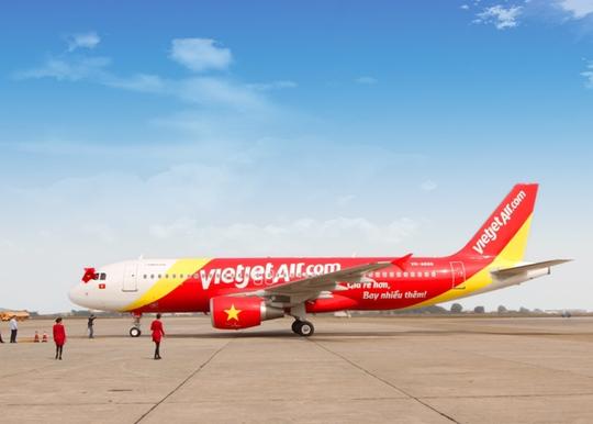 Một máy bay của Vietjet Air