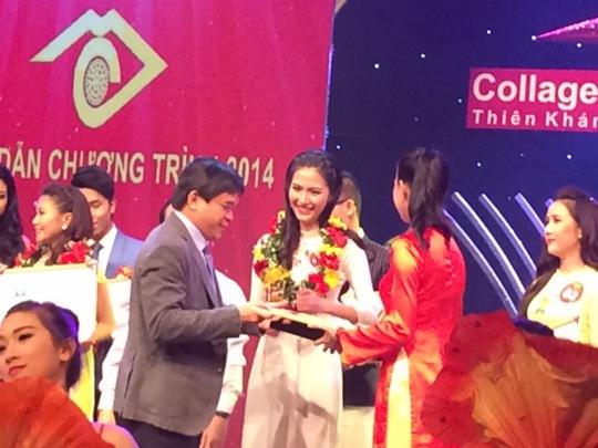 Thí sinh Mỹ Linh đoạt Én vàng 2014