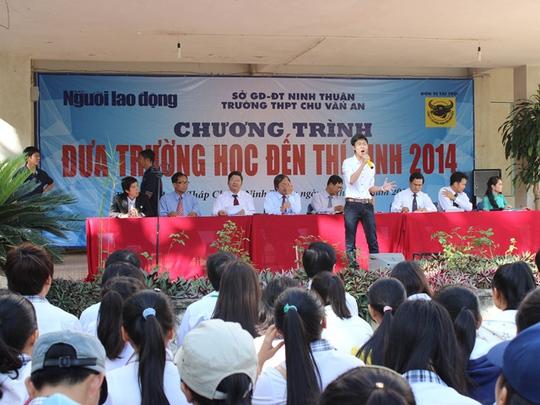 Tiết mục văn nghệ của Trường THPT Chu Văn An
