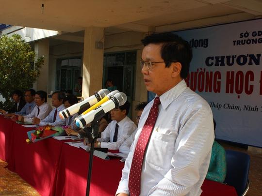 Ông Nguyễn Văn Tín phát biểu mở đầu chương trình