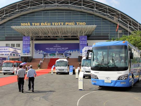 Đại gia ô tô Trường Hải vừa giới thiệu một loạt xe bus cao cấp vào cuối tuần qua.