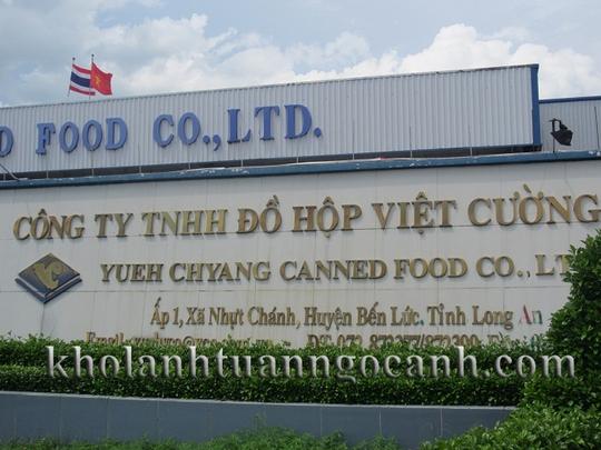 Công ty TNHH Đồ hộp Việt Cường, nơi 2 công nhân bị đuổi việc đánh người