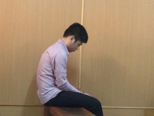 Bị cáo Đạt tại tòa