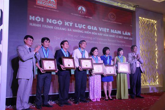 Hàng trăm kỷ lục gia Việt Nam và châu Á hội ngộ