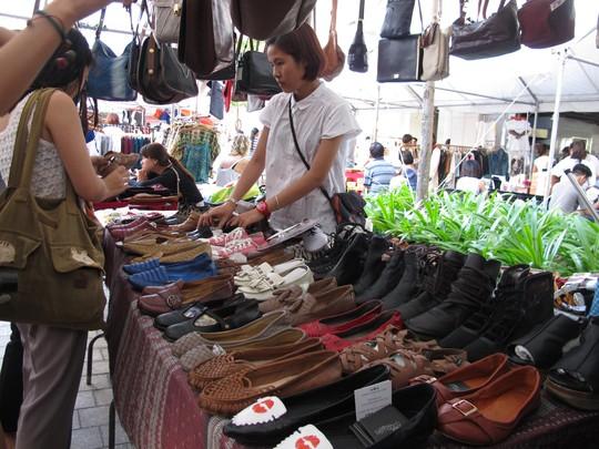 Một góc chợ trời Sài Gòn Flea Market ở quận 7, TP HCM