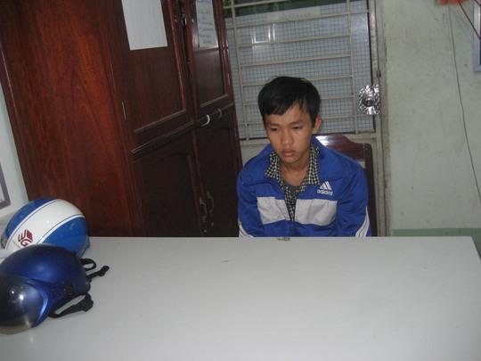 Huỳnh Văn Thái, thiếu niên đã chém chết người torng lúc bị truy đuổi