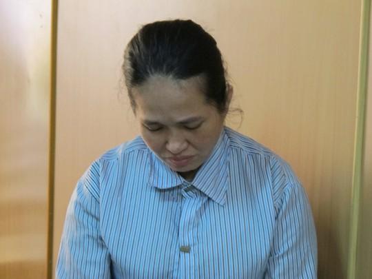 Bị cáo Lan được tòa tuyên bằng với thời giam tạm giam