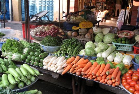Nhiều mặt hàng rau củ quả Trung Quốc thường bị lập lờ gắn mắc hàng Việt (ảnh minh họa: Thái Phương)