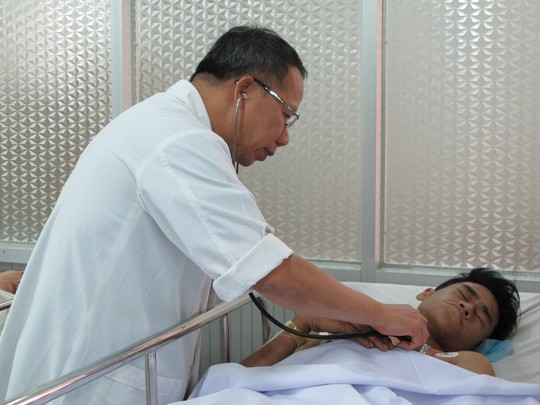 Trần Vĩ Nam đang được theo dõi tại Bệnh viện Chợ Rẫy