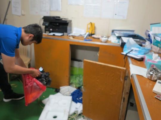 Phòng ngủ bị xáo trộn