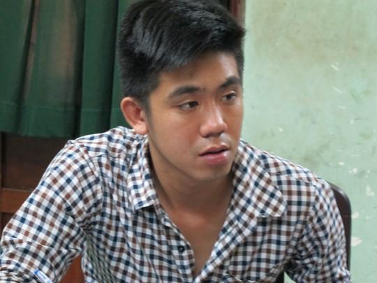 Trần Quý Lâm tại Công an phường 13, quận 10-TP HCM