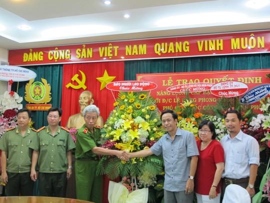 Lãnh đạo Công an TP HCM và Báo Người Lao Động đã có buổi gặp gỡ sáng 19-8