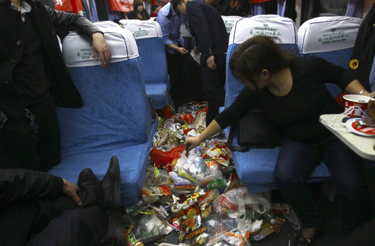 china train new year