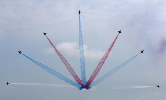 South Korean Air force Manoeuver