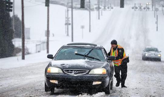 Snow is a four-letter word: Northeast hit with another storm; South still reeling from ice