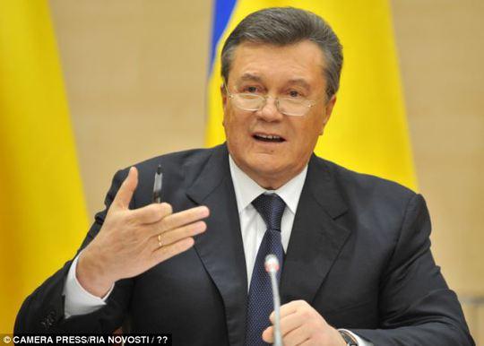 Ông Yanukovych nguy kịch?