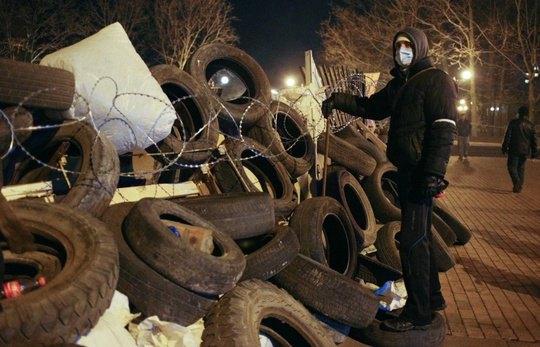 Situation in Luhansk, Ukraine