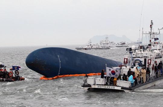 Sewol shipwreck