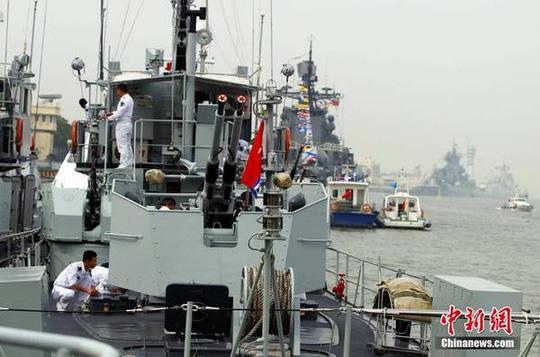 Cuộc tập trận nhằm gửi đi thông điệp rằng Trung-Nga đang hợp tác chặt chẽ ở châu Á-Thái Bình Dương, theo trang Sina Military Network. Ảnh: CHINA NEWS
