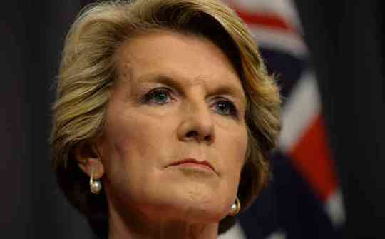 Foreign Minister Julie Bishop says the govt is gravely concerned over the military coup in Thailand.