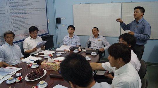 Vina CHG tiếp đoàn đại biểu Hiệp Hội Điện gia dụng Nhật Bản