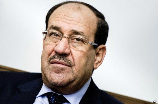 Iraqi Prime Minister Nouri Maliki in Baghdad, 23 June