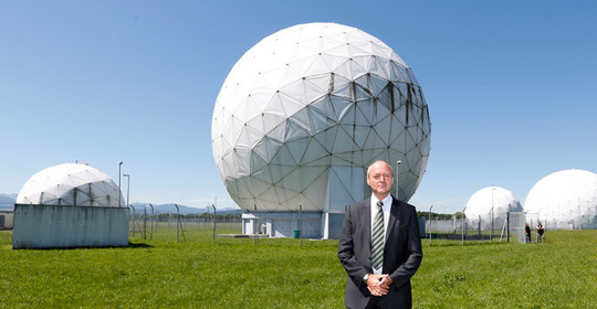 Gerhard Schindler stands at the former monitoring base of the National Security Agency (NSA) in Bad Aibling, south of Munich, June 6, 2014. (Reuters / Michaela Rehle)