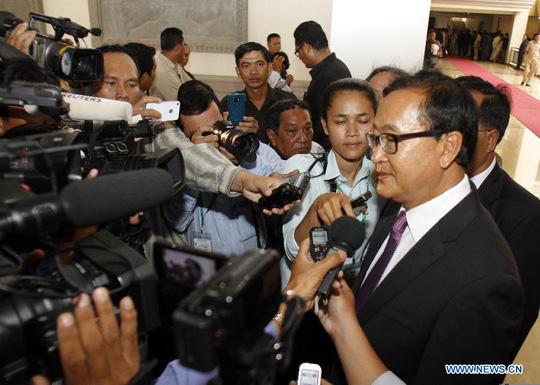 CAMBODIA-PHNOM PENH-POLITICS