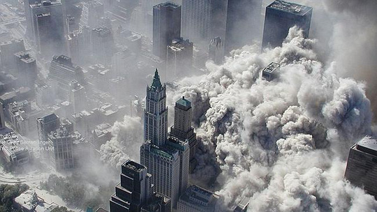 Day of horror ... the September 11 attacks brought down the Twin Towers.