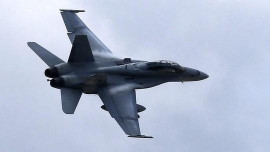 Các máy bay chiến đấu Mỹ tiến hành 2 cuộc không kích vào ngày 14 và 15-9. Ảnh: AP