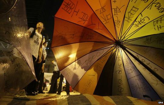 Umbrella revolution 6 October 2014