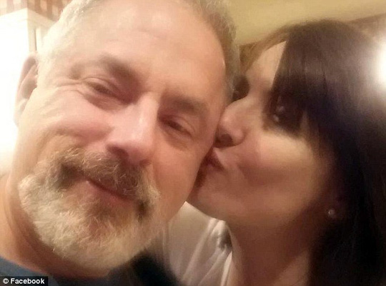 Tragedy: George Scott Samson and Kelly Ecker married on Saturday evening and returned to Samsons Terre Haute home for their wedding party