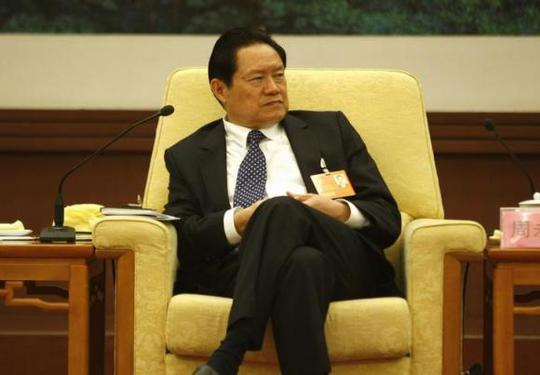 Chinas then Public Security Minister Zhou Yongkang attends the Hebei delegation discussion sessions at the 17th National Congress of the Communist Party of China at the Great Hall of the People, in Beijing in this October 16, 2007 file photo. REUTERS/Jason Lee