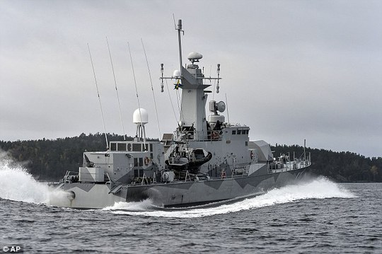 Russia has been involved in more than 40 dangerous incidents over the past eight months; earlier this month the Swedish military hunted a suspected Russian submarine near Stockholm