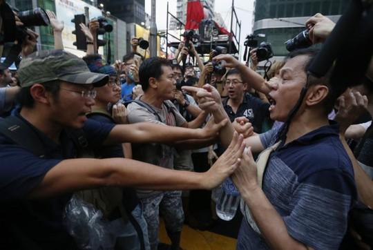 Mong Kok protest, Hong Kong