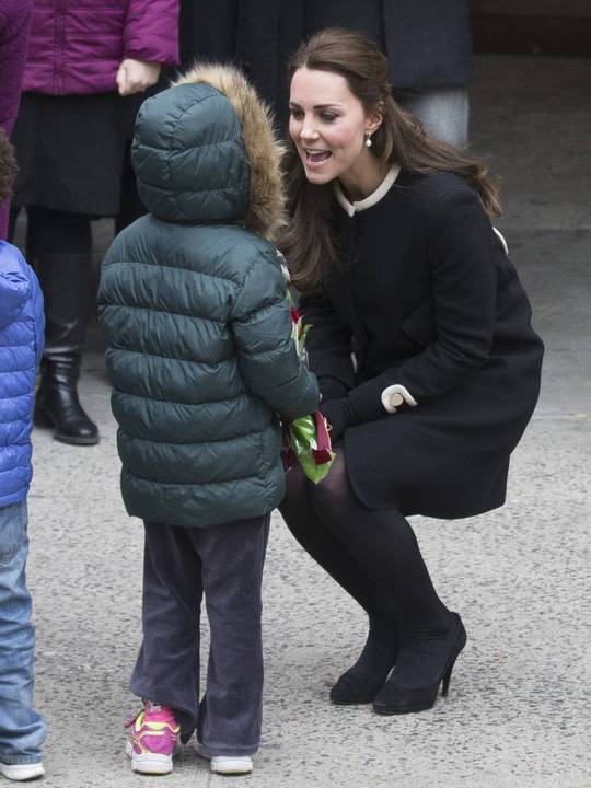 New York children thought Kate was Princess Elsa from Frozen