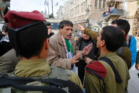 Palestinian minister Ziad Abu Ein