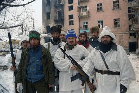 Chechen militants in Grozny. January 1995. (RIA Novosti / Igor Mikhalev)