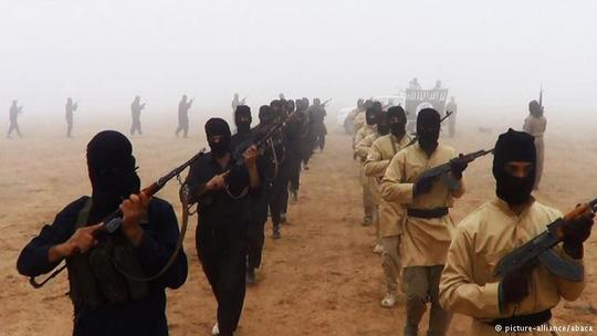 Các tay súng của Nhà nước Hồi giáo. Ảnh: Acaba