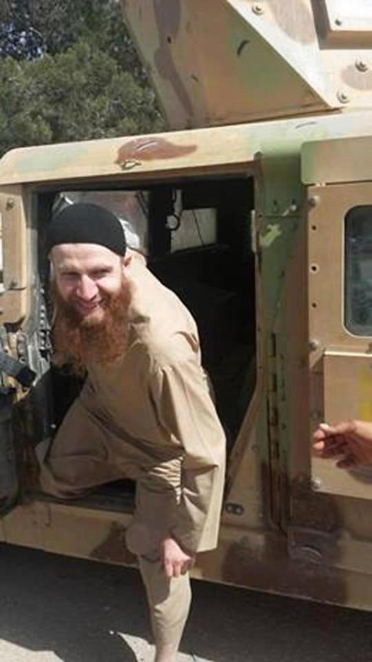 Omar al-Shishani từng là một người lính thân thiện. Ảnh: AP