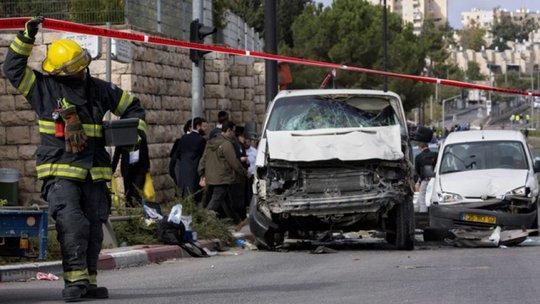 Cuộc tấn công khiến 1 người thiệt mạng và 14 người khác bị thương. Ảnh: AP