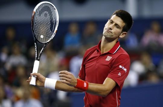 Djokovic thất bại trước Federer ở bán kết Thượng Hải Masters 2014