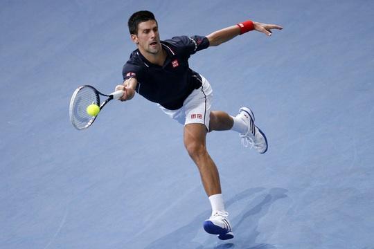 Số 1 thế giới Novak Djokovic