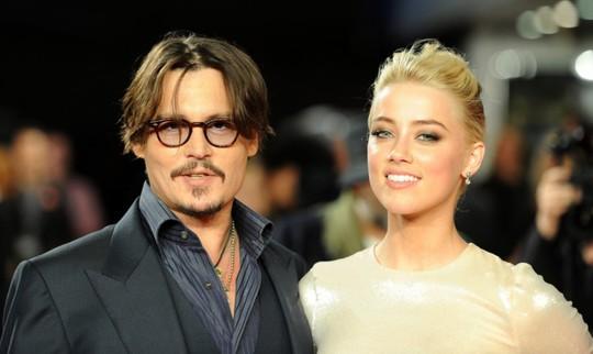 Amber Heard và Johnny Depp
