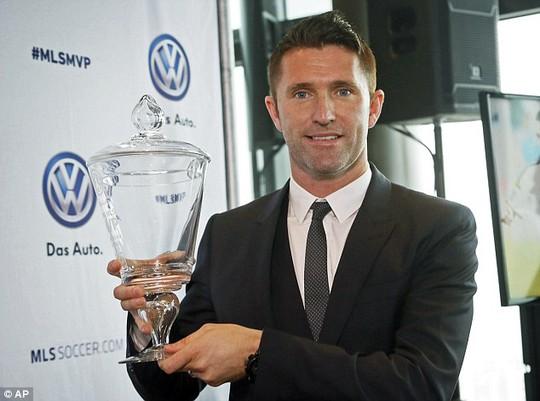 Robbie Keane với danh hiệu Cầu thủ giá trị nhất MLS 2014