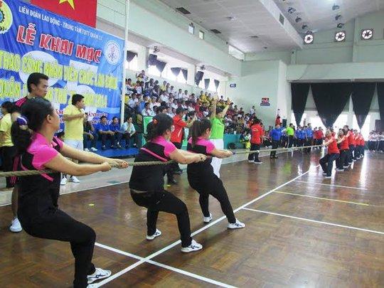 Thể thao giúp CNVC-LĐ rèn luyện sức khỏe