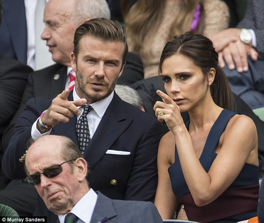 Cựu cầu thủ M.U David Beckham